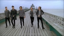 One Direction on Clevedon Pier