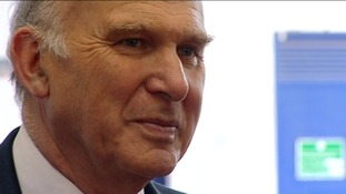 Vince Cable MP visits the North East