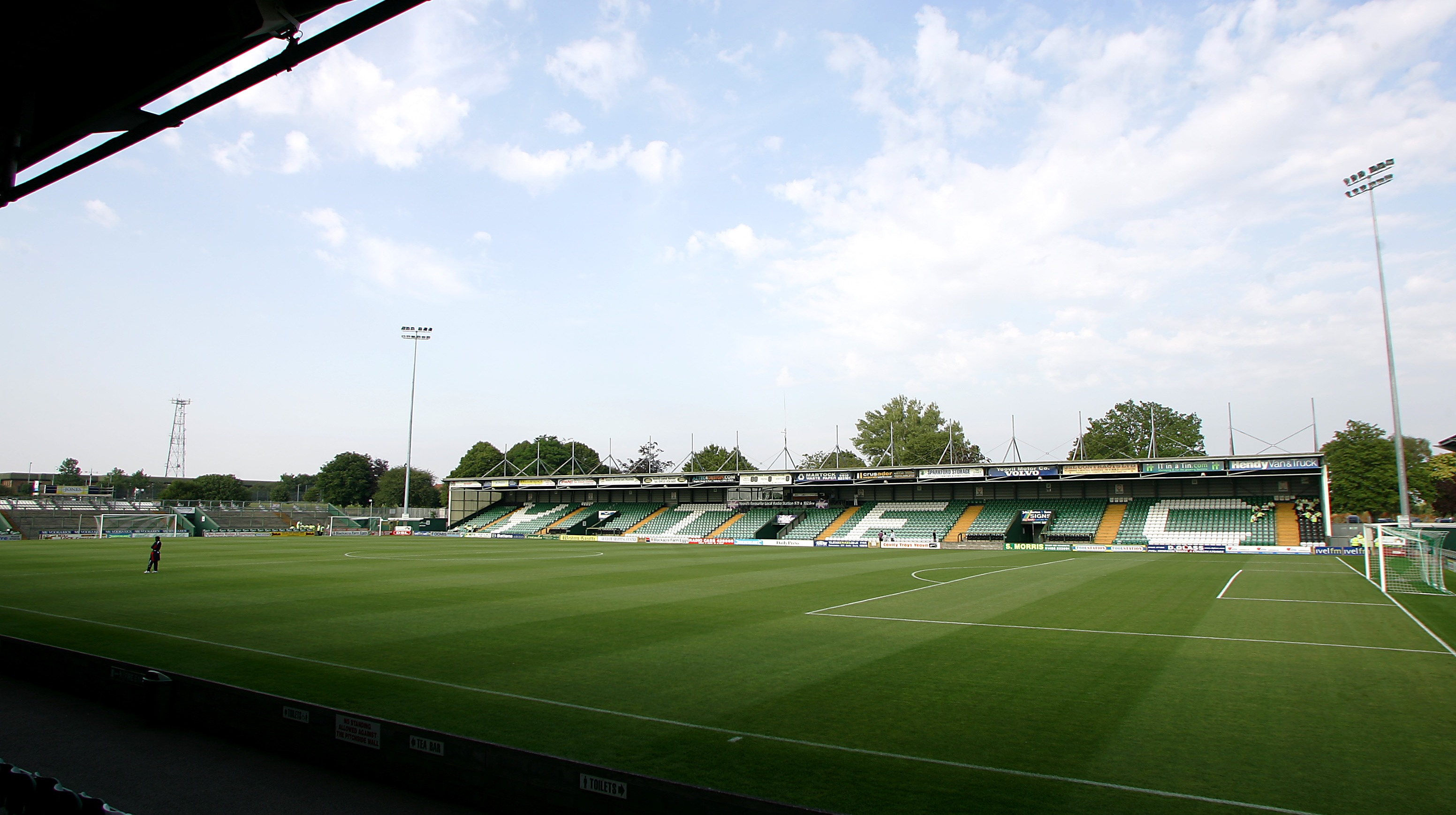 yeovil town to hold consultation over stadium plans