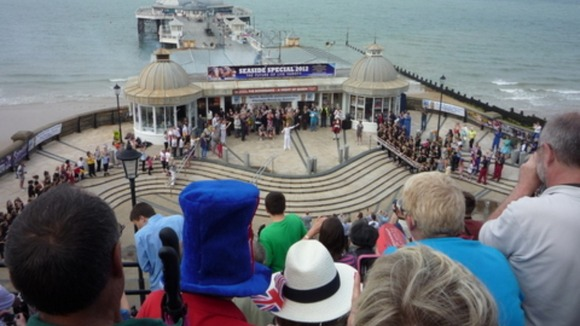 Olympic Torch in Cromer