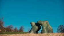 Henry Moore, Large Two Forms, 1966–69. Photo © Jonty Wilde. Reproduced by permission of The Henry Moore Foundation.