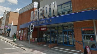 Odeon cinema in Epsom