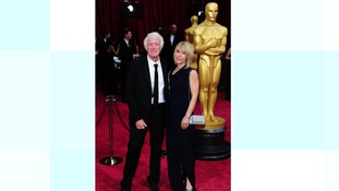 Roger Deakins and his wife Isabella at last year's Oscars.
