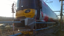 Train involved in incident
