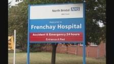 Sign at Frenchay Hospital