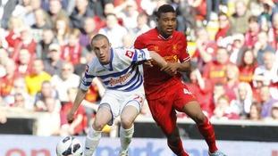 Harriman in action for QPR.