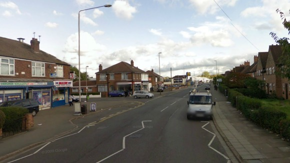Google Street View Map of where the crash happened on Gipsy Lane approaching Catherine Street