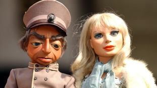 Lady Penelope and Parker puppets