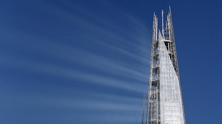The Shard rises 1016 feet