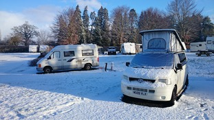 snow campervans