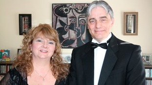 Hywel Jones with wife Cathy