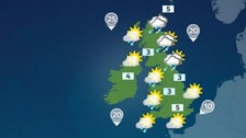 Highs of 5C in the south as well as the northern isles of Scotland.