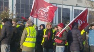 Barbour workers returned to work last week