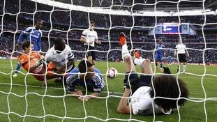 Juan Mata's non goal