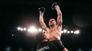 Froch's spring Las Vegas clash with Chavez takes a blow