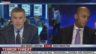Chuka Umunna storms out of Sky News interview after clashing with Dermot Murnaghan