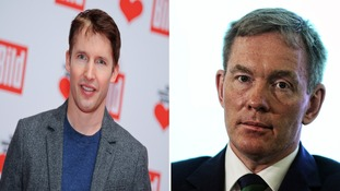 James Blunt and Chris Bryant