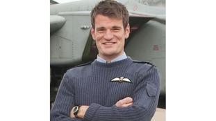 Flight Lieutenant Hywel Poole