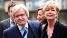 Anne with her onscreen husband Ken Barlow, played by Bill Roache.