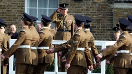 Soldiers from Royal Welsh earlier this year
