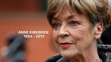 Anne Kirkbride had previously battle cancer.
