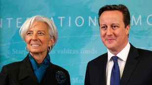 IMF sees growth for UK but downgrades global outlook