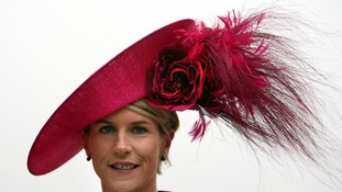 Mary Carty from Kells, Co Meath during day two of the 2012 Cheltenham Festival