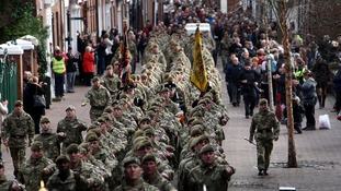 Mercian Regiment facing cuts