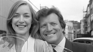 Johnny Briggs who played Mike Baldwin with Anne Kirkbride, who played Deirdre Barlow.
