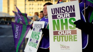 NHS staff strike