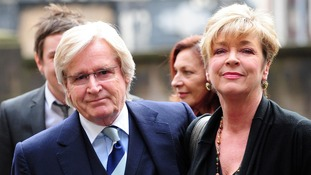 Coronation Street actors William Roache and Anne Kirkbride