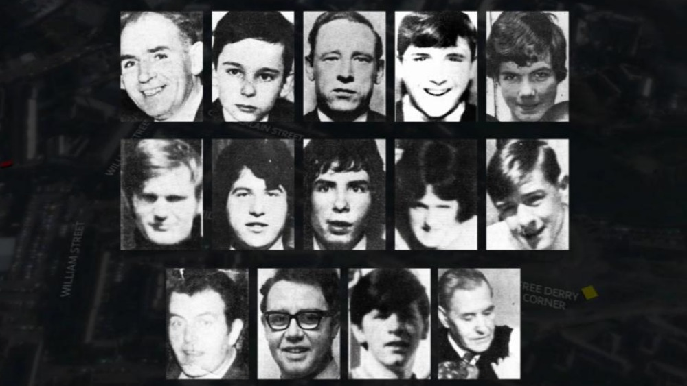 bloody sunday 1972 essay Bloody sunday – sometimes called the bogside massacre – was an incident on 30 january 1972 in the bogside area of derry, northern ireland, when british soldiers shot 28 unarmed civilians during a peaceful protest march against internment fourteen people died: thirteen were killed outright, while the death of another man four months later.