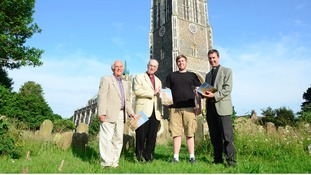The team behind Southwold's new book