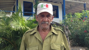 Farmworker Martin Gonzales says he sees the changing relationship between Cuba and the US as 'positive'