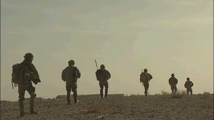 Argyll and Sutherland Highlanders on duty in Afghanistan