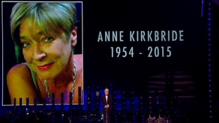 Bill Roache gives his tribute to Anne Kirkbride.