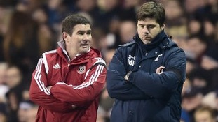 Spurs manager Mauricio Pochettino paid tribute to a valiant effort from Nigel Clough's side
