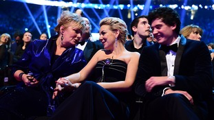 Sheridan Smith (centre) during the 2015 National Television Awards