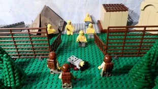 The Holocaust told in Lego