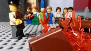 Holocaust in Lego