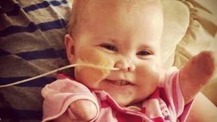 Harmonie-Rose's family want to save other children the pain she went through.