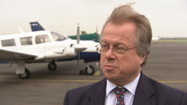 Lydd airport : exclusive TV interview with new boss - ITV News