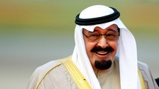 King Abdullah bin Abdulaziz of Saudi Arabia
