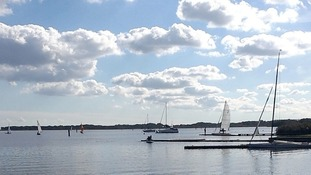 Hickling Broad in Norfolk is now part of the Broads National Park.