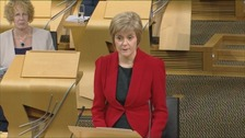 The First Minister is in Dumfries for questions.