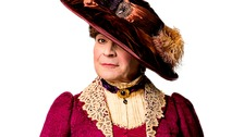David Suchet as Lady Bracknell in The Importance Of Being Earnest.