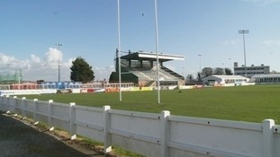 Plymouth Albion's Brickfields home