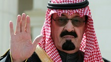 King Abdullah in 2005, when he ascended the Saudi throne.