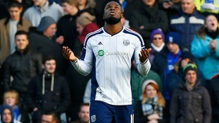 Report: Birmingham out due to Anichebe West Brom brace