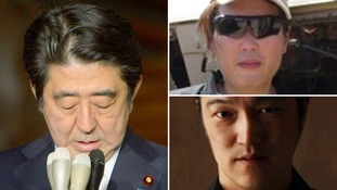 Japan PM condemns IS hostage 'killing' as he confirms video appears authentic